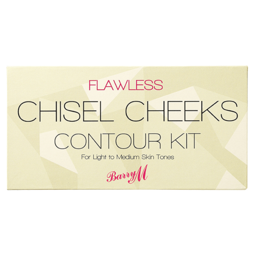 Barry M Chisel Cheeks Contour Kit - Light to Medium by Barry M