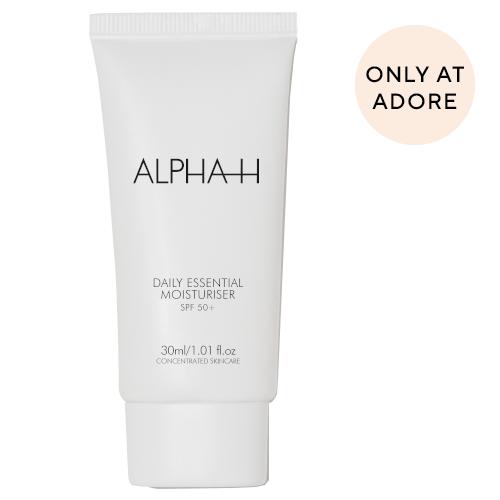 Alpha-H Daily Essential Moisturiser SPF50+ Travel Size 30ml