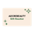 Adore Beauty Gift Voucher - White