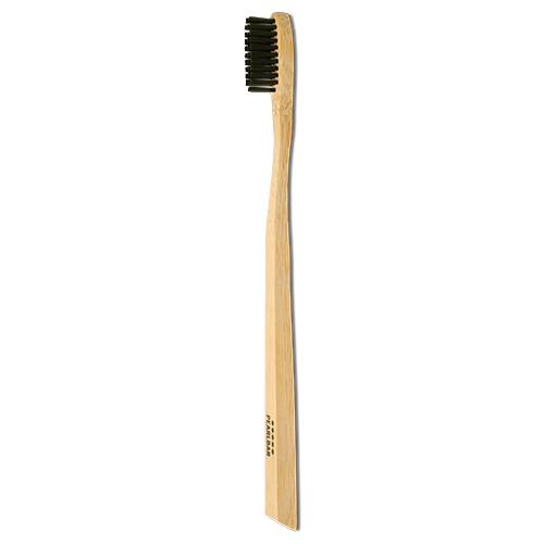 PearlBar Bamboo + Charcoal Toothbrush - Adult Medium by Pearlbar