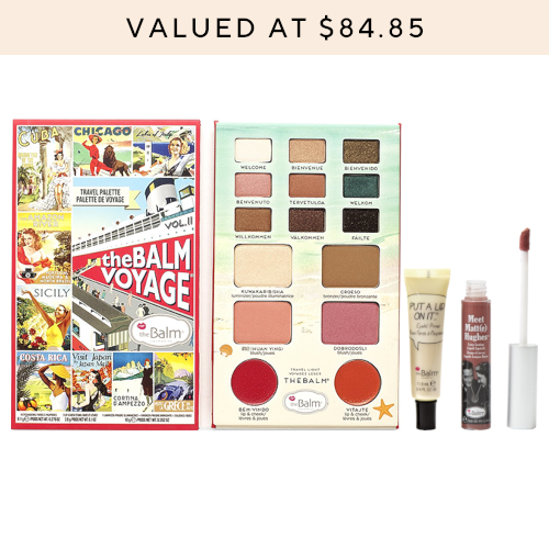 theBalm Bon Voyage Beauty Collection by theBalm