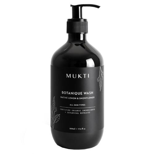 Mukti Organics Botanique Hand & Body Wash 500ml
