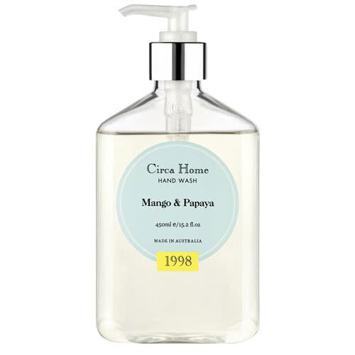 Circa Home Mango & Papaya Hand Wash 450ml by Circa Home Candles & Diffusers