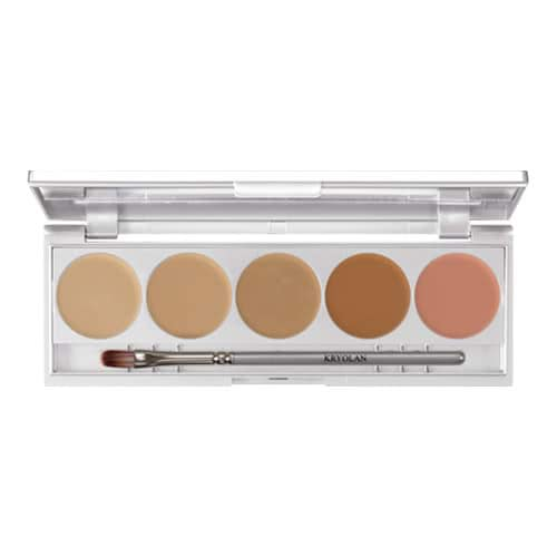Kryolan HD Micro Foundation Cache Palette - Contouring by Kryolan Professional Makeup