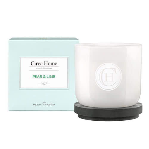 Circa Home  Pear & Lime Classic Candle 260g by Circa Home Candles & Diffusers
