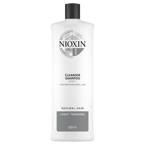 Nioxin 3D System 1 Cleanser Shampoo 1000ml by Nioxin