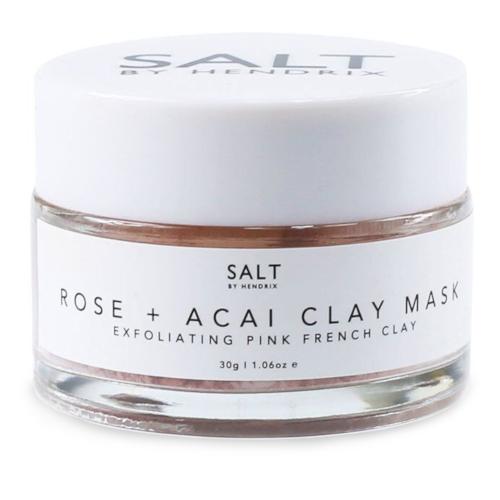 SALT BY HENDRIX Rose + Acai Face Mask 30g  by SALT BY HENDRIX