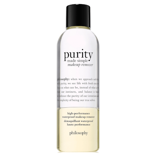 philosophy purity made simple waterproof makeup remover 200ml by philosophy