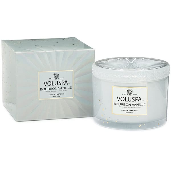 Voluspa Bourbon Vanille Corta Candle by Voluspa