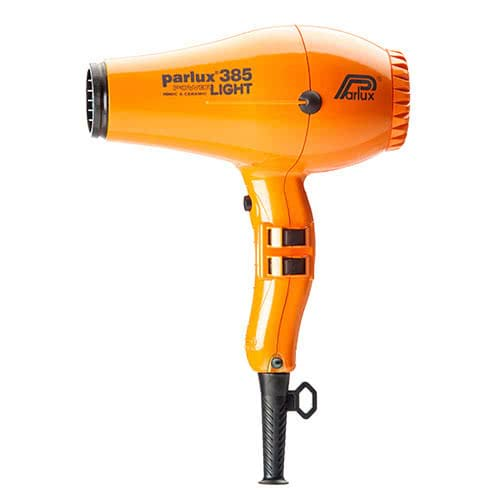 Parlux Power Light 385 Ionic & Ceramic Hairdryer - Orange  by Parlux