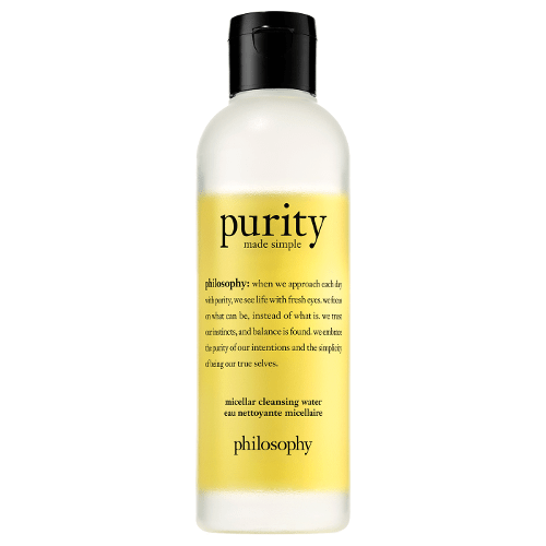 philosophy purity made simple cleansing micellar water 200ml  by philosophy