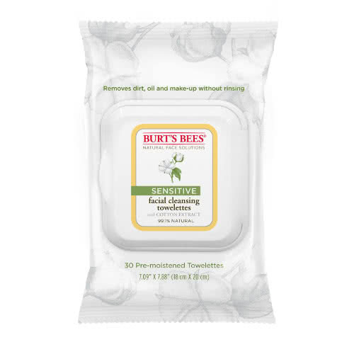 Burt's Bees Sensitive Facial Cleansing Towelettes by Burt's Bees