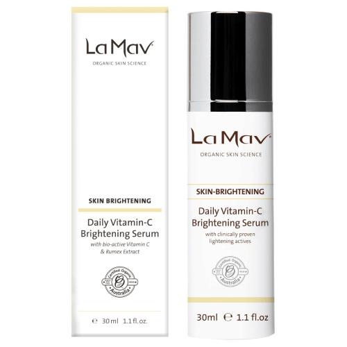 La Mav Daily Vitamin-C Brightening Serum by La Mav Organic Skin Science