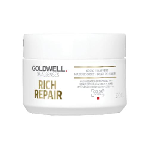 Goldwell Dualsenses Rich Repair 60sec Treatment 200ml by Goldwell