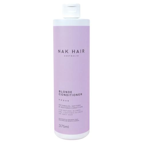 NAK Hair Blonde Conditioner 375ml by NAK Hair