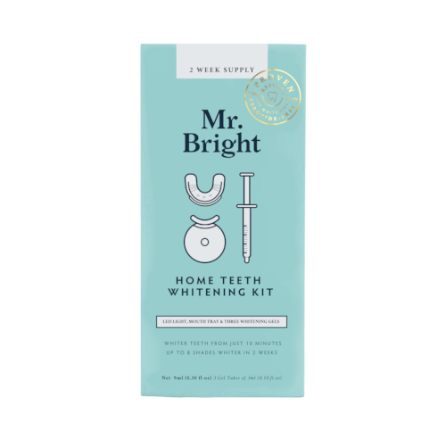 Mr Bright Whitening Kit With LED - 2 Weekly Supply by Mr Bright