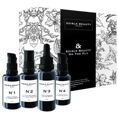 Edible Beauty & Beauty on the Fly - Travel Mini Skin Set by Edible Beauty
