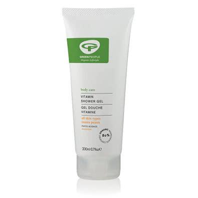 Green People Vitamin Shower Gel - 80% Certified Organic