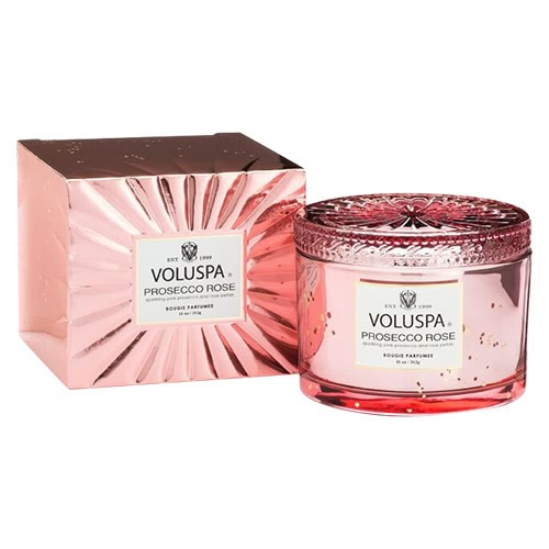Voluspa Prosecco RoseCorta Candle by Voluspa
