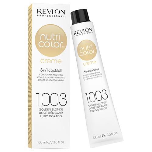 Revlon Professional Nutri Color Crème - 1003 Pale Gold 100ml by Revlon Professional