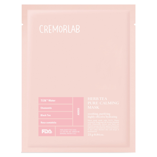 Cremorlab Herb Tea Pure Calming Mask 10 Sheets by Cremorlab