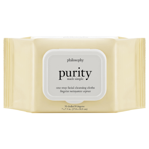 philosophy purity made simple one-step facial cleansing cloths by philosophy