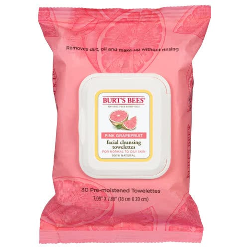 Burt's Bees Pink Grapefruit Facial Cleansing Towelettes by Burt's Bees