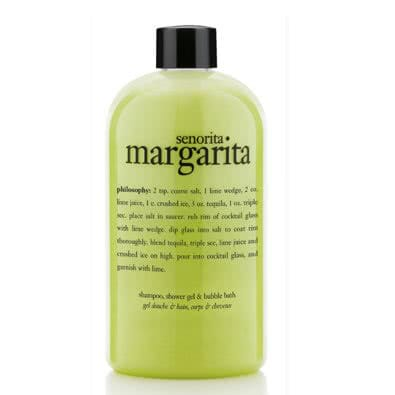 philosophy senorita margarita shampoo,  shower gel & bubble bath by philosophy