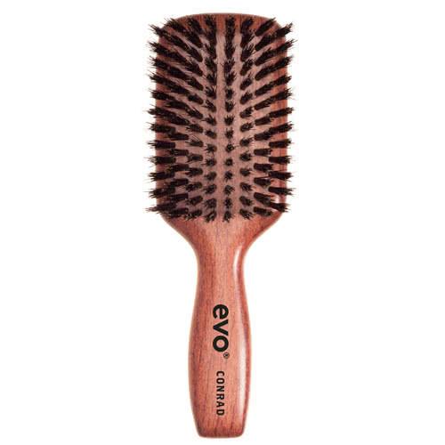 evo Conrad Boar Bristle Paddle Brush by evo