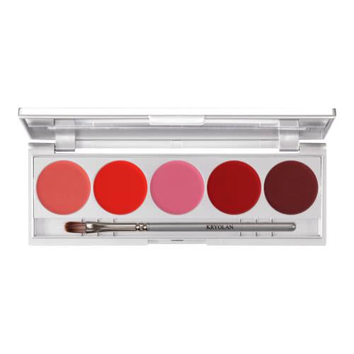 Kryolan Lip 5 Palette Performance by Kryolan Professional Makeup