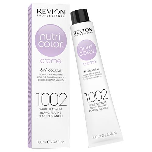 Revlon Professional Nutri Color Crème - 1002 White Platinum 100ml by Revlon Professional