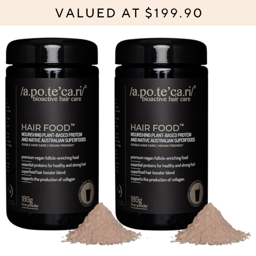 Apotecari Hair Food 2 Month Supply by Apotecari
