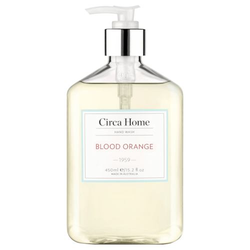 Circa Home Blood Orange Handwash 450ml by Circa Home Candles & Diffusers