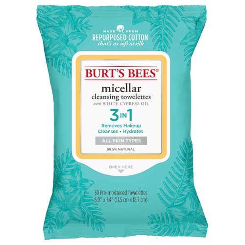 Burt's Bees Micellar Cleansing Towelettes - 30 pack by Burt's Bees