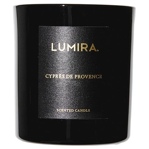 Lumira Glass Candle -  Cypres de Provence by Lumira