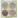 Pixi Glitter-y Eye Quad - Gold Lava  by Pixi