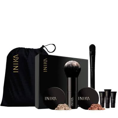Inika Face in a Box-06 Trust - golden pink, for medium - dark skin by Inika