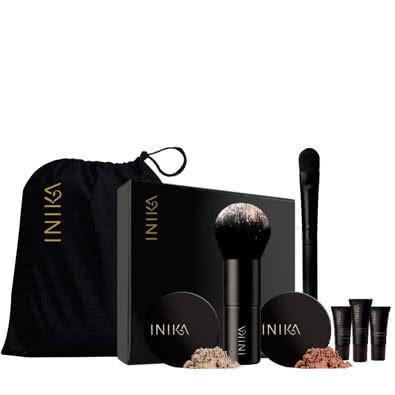 Inika Face in a Box-06 Trust - golden pink, for medium - dark skin by Inika