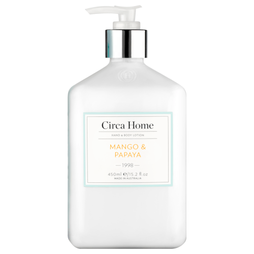 Circa Home Mango and Papaya Hand & Body Lotion 450mL by Circa Home Candles & Diffusers