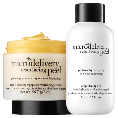 philosophy microdelivery resurfacing peel kit by philosophy