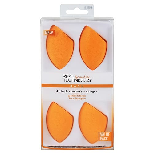 Real Techniques Miracle Complexion Sponge - 4 Pack by Real Techniques