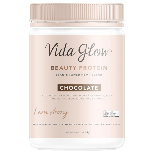 Vida Glow Beauty Protein Chocolate 500g by Vida Glow