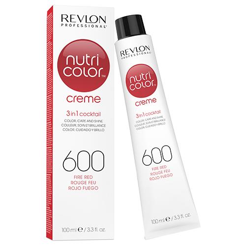 Revlon Professional Nutri Color Crème - 600 Fire Red 100ml