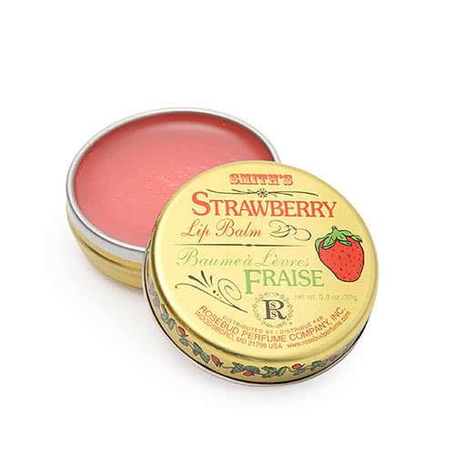Smith's Rosebud Salve - Strawberry Lip Balm - Tin by Smith's Rosebud Salve