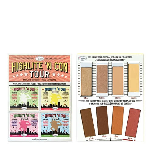theBalm Highlite N' Con Tour Palette by theBalm