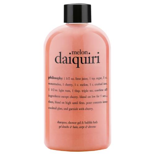 philosophy melon daiquiri shampoo,  shower gel & bubble bath by philosophy