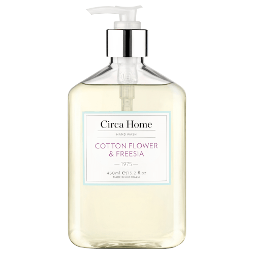 Circa Home Hand Wash (1975) Cotton Flower & Freesia 450ml by Circa Home Candles & Diffusers
