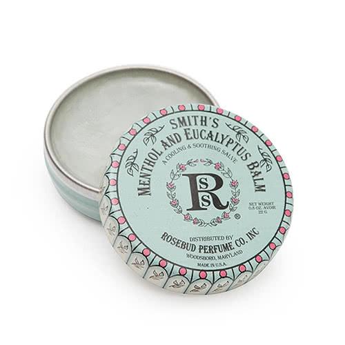Smith's Rosebud Salve - Menthol Eucalyptus Lip Balm - Tin by Smith's Rosebud Salve