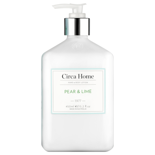 Circa Home Pear and Lime Hand & Body Lotion 450mL by Circa Home Candles & Diffusers