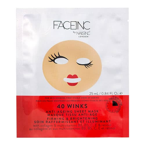 Face Inc 40 Winks Sheet Mask - Anti Ageing by face inc